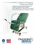Womens Imaging Ultrasound Table Flyer