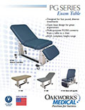 PG Series Exam Table Brochure